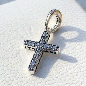 Pandora Sparkling Cross Pendant